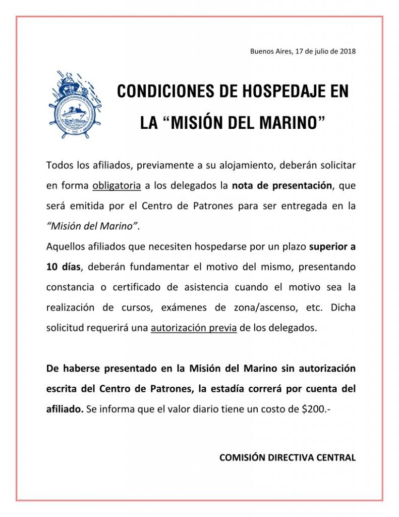 Misión del Marino