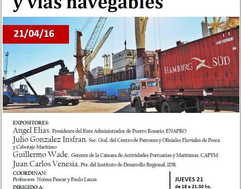 Panel Comercio Exterior y Vías Navegables (4)