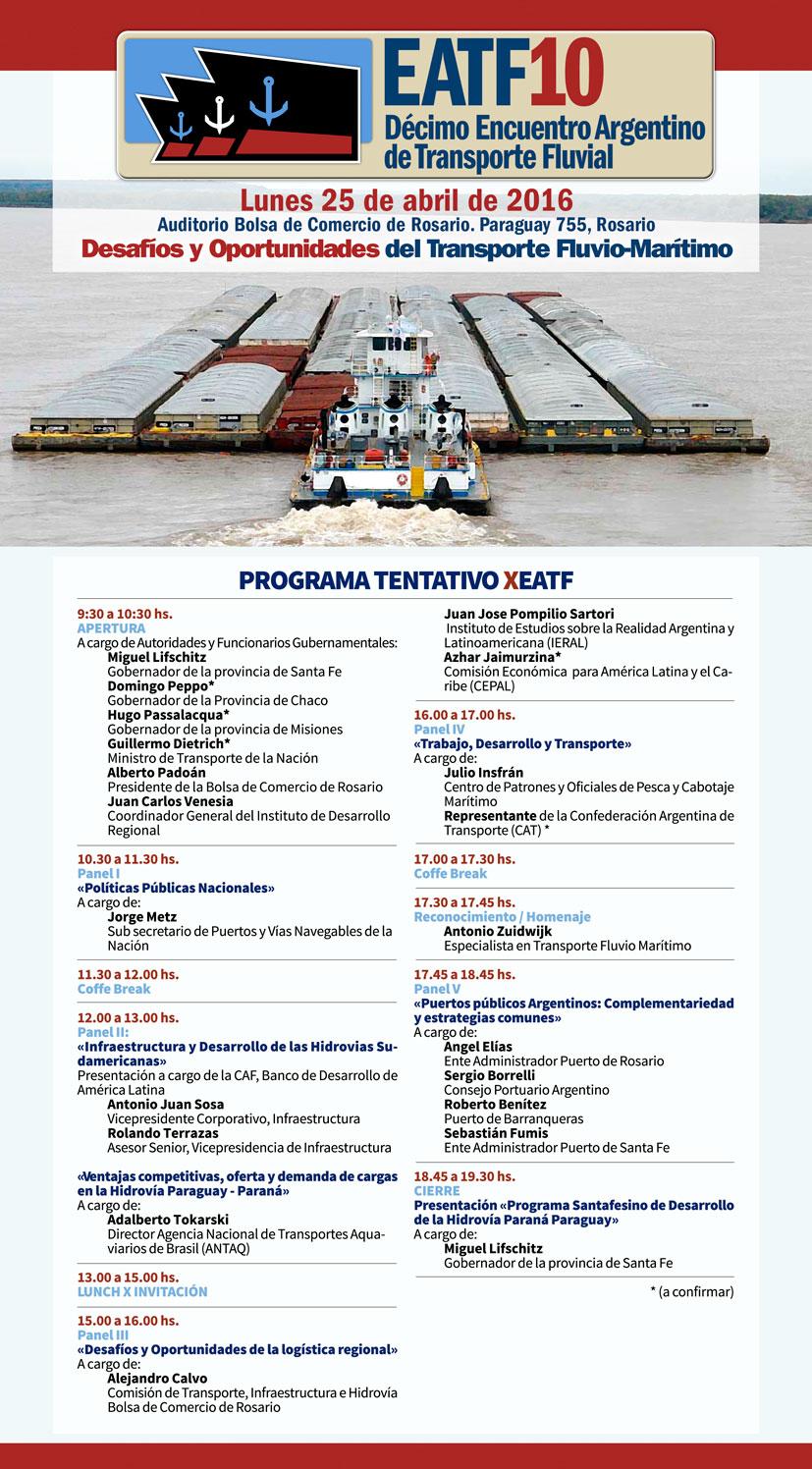 Programa Preliminar EATF 10