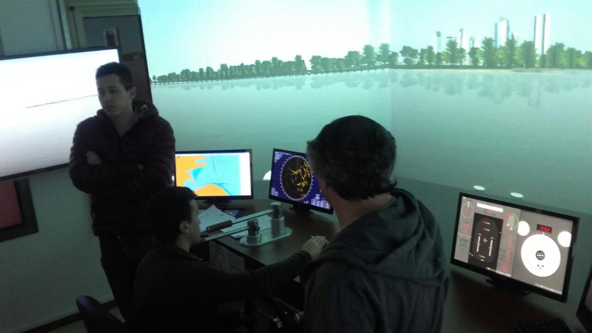 Actividades en el Simulador del Centro de Patrones
