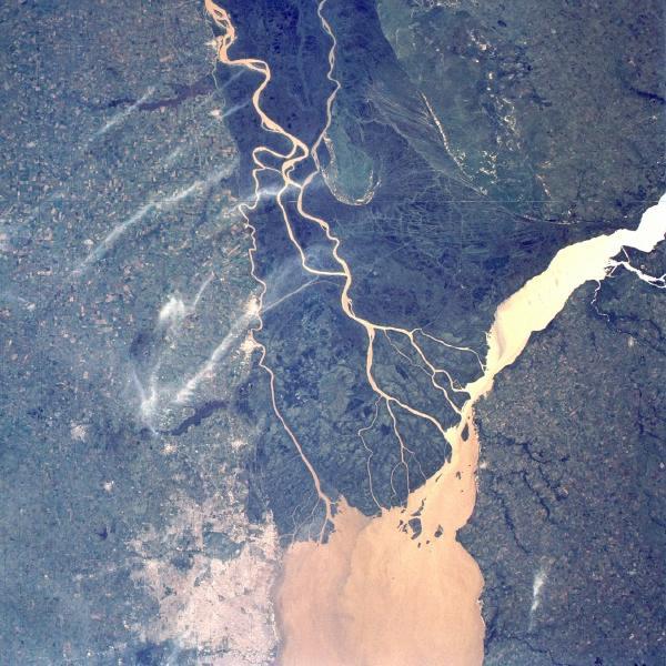 rio parana satelital