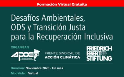 CAPACITACIÓN DEL FRENTE SINDICAL DE ACCIÓN CLIMÁTICA