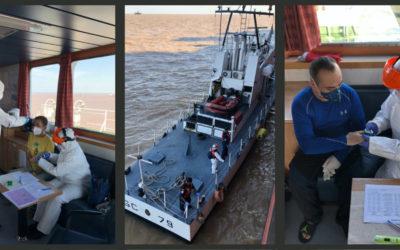 El coronavirus y los buques extranjeros