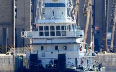 Conflicto en la hidrovía con un barco argentino.